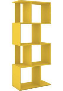 Estante Rack- Amarela- 144X60X29,5Cm- Movel Bentmovel Bento