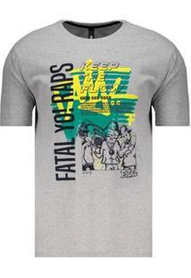 Camiseta Fatal Raps Estampada Masculina - Masculino