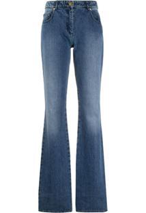 Michael Michael Kors Calça Jeans Bootcut Cintura Alta - Azul