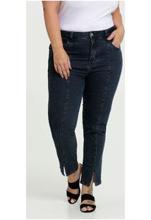 Calça Feminina Cigarrete Stretch Plus Size