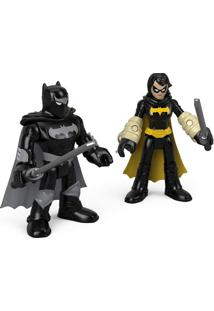 Imaginext Dc Super Friends Black Bat E Batman Ninja - Mattel - Multicolorido - Menino - Dafiti
