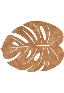 Jogo Americano Copa&Cia Trento Leaf Caramelo