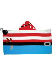 Toalha De Banho Stephen Joseph Pirata - Multicolorido/Vermelho - Menino - Dafiti