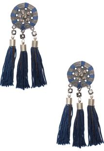 Brinco Etrusco - Azul