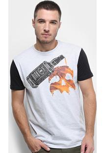 Camiseta Rukes Whiskey Mask Masculina - Masculino