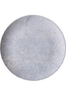 Prato De Sobremesa Coup Blue Granite Em Cerâmica Porto Brasil