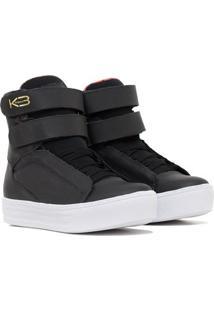 Tênis Sneaker Fit - Feminino-Preto