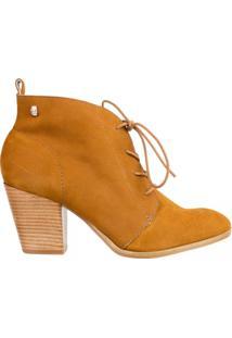 Bota Ankle Boot Loucos E Santos L50526001A04 - Feminino-Caramelo