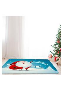 Tapete De Natal Para Sala Papai Noel Único