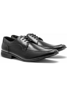 Sapato Social Johnny Brads - Masculino-Preto