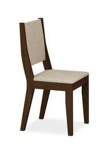 Cadeira Belém Sala De Jantar , Padrao - Castor , Revestimento - Veludo Brilho