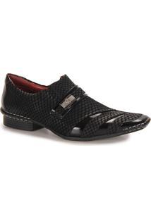 Sapato Social Masculino Calvest - Preto