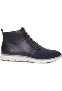 Bota Masculina Killington Fabric And Leather Chukka - Preto