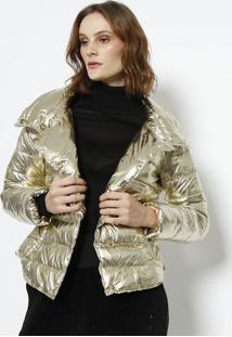 Jaqueta Samara Metalizada - Dourada - Le Lis Blancle Lis Blanc