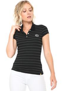 Camisa Pólo Lunender feminina  b4a4306c1ab99