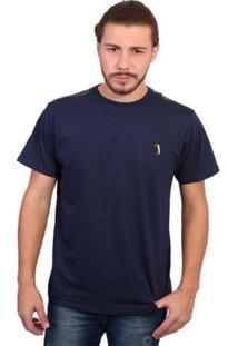 Camiseta New York Polo Club Tagless - Masculino-Marinho