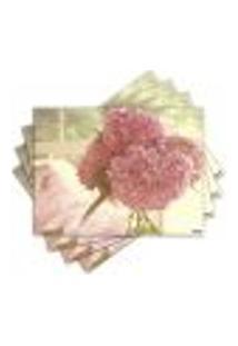 Jogo Americano - Flor Com 4 Peças - 429Jo