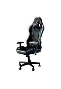 Cadeira Gamer Bunker Camuflada Azul Pro E-Sports Ergonomica Reclinavel