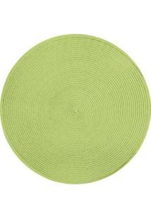 Jogo Americano Redondo 39 Cm Verde Limão Tyft