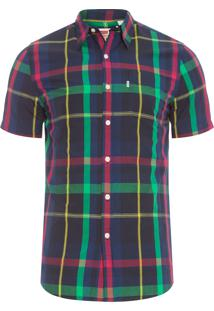 Camisa Masculina Short Sleeve - Preto