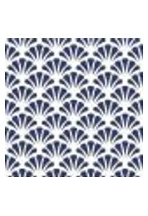 Papel De Parede Adesivo Abstrato Azul 100103 Rolo 0,58X3M