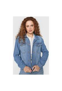 Jaqueta Jeans Forum Estonada Azul