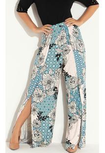 e110b4278 Calça Floral Quintess feminina | Shoelover