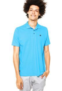 ... Camisa Polo Oakley One Essential Elipse Azul 55082326e0669