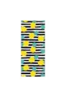 Adesivo Decorativo De Porta - Abacaxi - 1999Cnpt