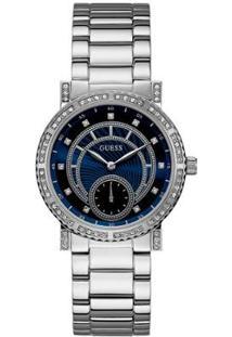 Relógio Guess Analógico 92683L0Gdna1 Feminino - Feminino-Prata