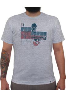 Foo Fighters - Camiseta Clássica Masculina
