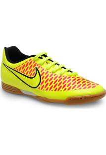 Tenis Masc Nike 651550-770 Magista Ola Ic Amarelo Neon