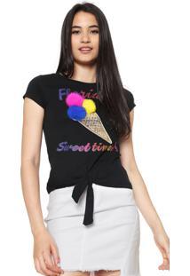 Camiseta Fiveblu Florida Preta