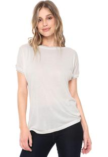 Blusa Ana Hickmann Off Shoulder Off-White