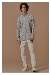 Camisa Ml Linho Grumari