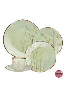 Aparelho De Jantar E Chá 30 Peças Ryo Bambu