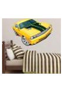 Adesivo De Parede Carro De Corrida - G 68X103Cm