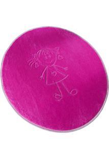 Tapete Formato Premium 68Cmx78Cm Helena Pink Guga Tapetes