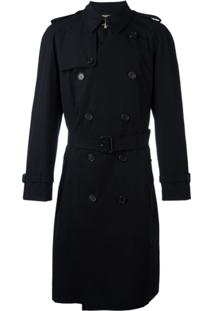 Burberry Trench Coat Westminster Médio - Preto