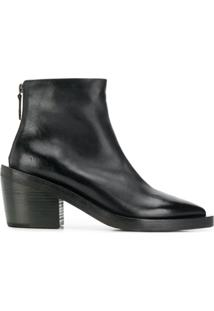 Marsèll Pointed Toe Ankle Boots - Preto