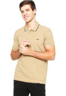 Camisa Polo Sommer Básica Bege