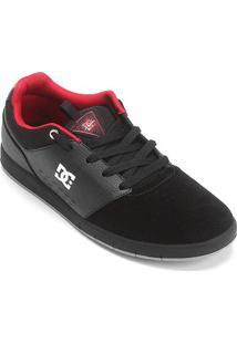 Tênis Dc Shoes Cole Signature Masculino - Masculino-Preto+Vermelho