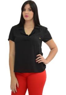 Camisa Energia Fashion Armani Preto