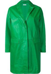 P.A.R.O.S.H. Jaqueta De Couro - Verde