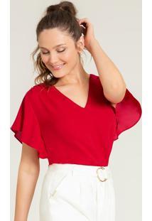 Blusa Feminina Vermelha