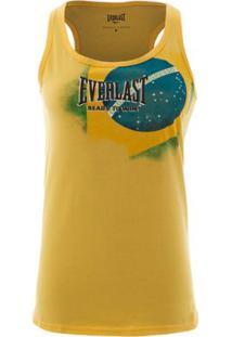Camiseta Regata Everlast Feminina - Feminino