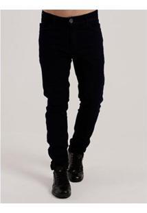 Calça Jeans Fikção Masculina - Masculino-Marinho