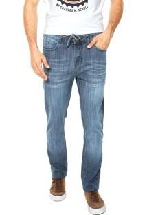 Calça Jeans Element Owen Washed Azul
