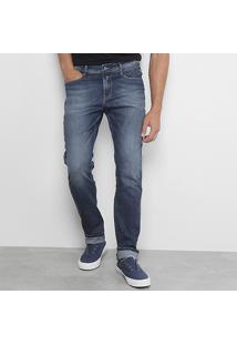 Calça Jeans Slim Replay Anbass Masculina - Masculino