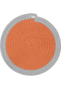 Jogo Americano Orbis Uniborder Orange 2 Pecas - 36X36